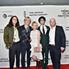 Anne Heche, Miles Robbins, Marc Meyers, Alex Wolff, and Ross Lynch at an event for My Friend Dahmer (2017)