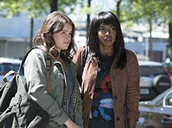 Sosie Bacon and Jerrika Hinton in Here and Now (2018)