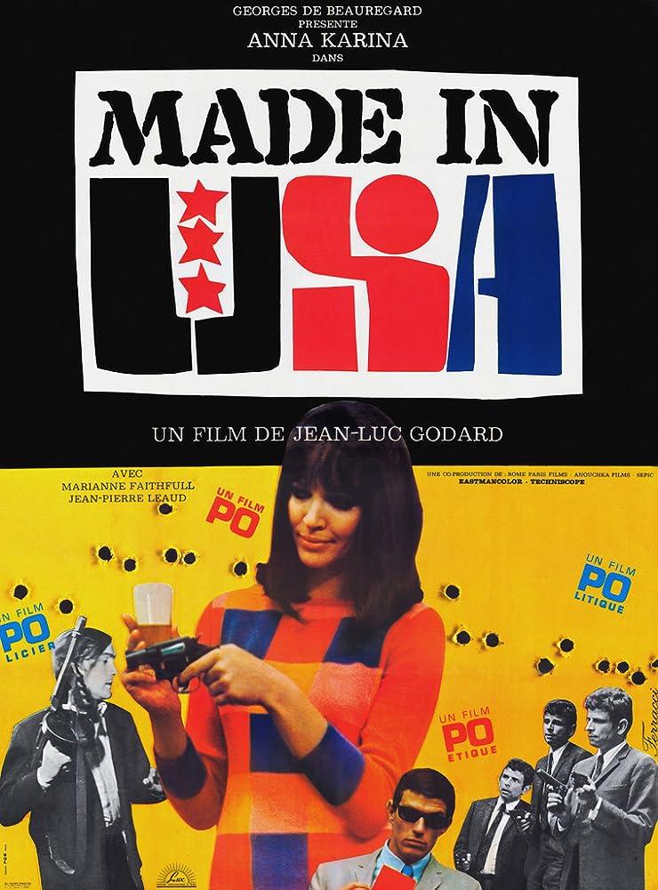 Anna Karina in Made in U.S.A (1966)