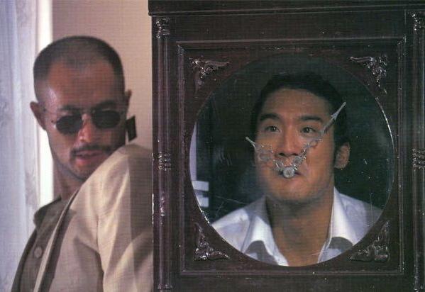 Tony Ka Fai Leung and Elvis Tsui in Dou san 2 (1994)