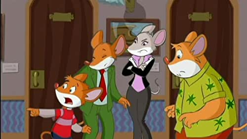 Geronimo Stilton: Intrigue On The Rodent Express