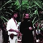 Robert De Niro and Roland Joffé in The Mission (1986)
