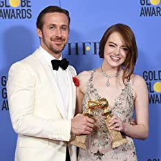 Ryan Gosling and Emma Stone at an event for 74th Golden Globe Awards (2017)