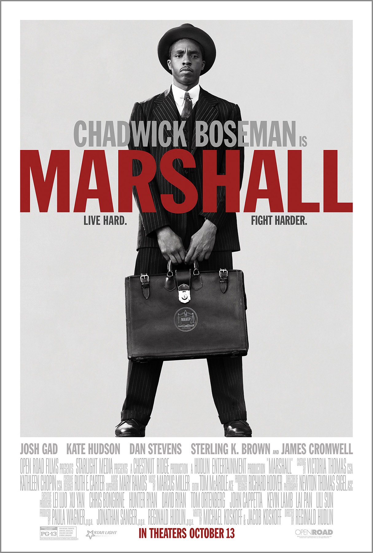Film Marshall Streaming Complet - Biopic sur l'avocat Thurgood Marshall....