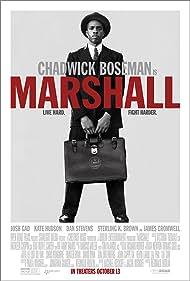 Chadwick Boseman in Marshall (2017)