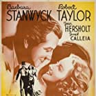 Barbara Stanwyck and Robert Taylor in His Brother's Wife (1936)