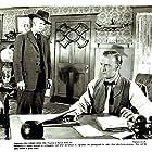 Dan Duryea and Robert Bice in Al Jennings of Oklahoma (1951)