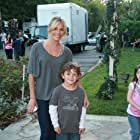 Kamden on set of Yellow with Sienna Miller