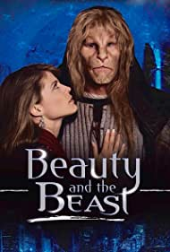 Linda Hamilton and Ron Perlman in Beauty and the Beast (1987)