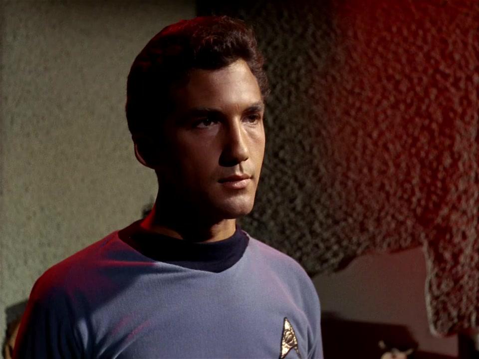 Michael Zaslow in Star Trek (1966)