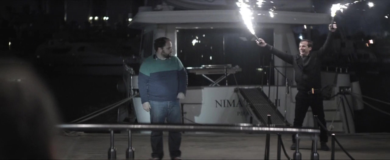 Yorgos Pirpassopoulos and Makis Papadimitriou in Chevalier (2015)