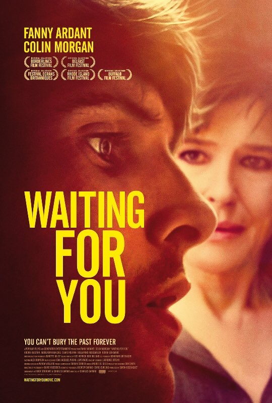 Fanny Ardant and Colin Morgan in Waiting for You (2017)