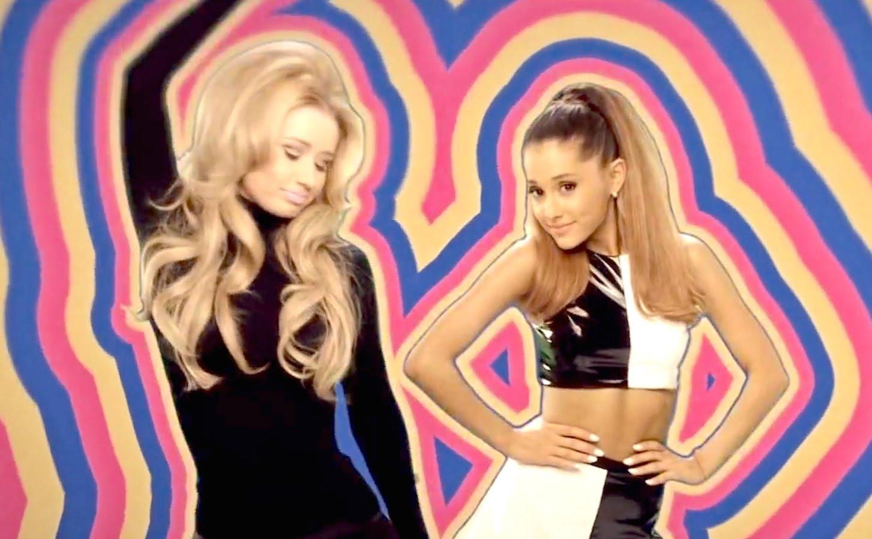 Ariana Grande and Iggy Azalea in Ariana Grande Feat. Iggy Azalea: Problem (2014)