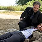 Misha Collins and Mark Sheppard in Supernatural (2005)