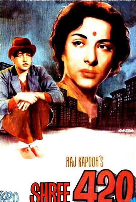 Shree 420 (1955) Raj Kapoor 720p WEB-DL Full Movie Download