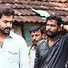 Prithviraj Sukumaran, Jijo Antony, and Kiran Raphel in Darvinte Parinamam (2016)