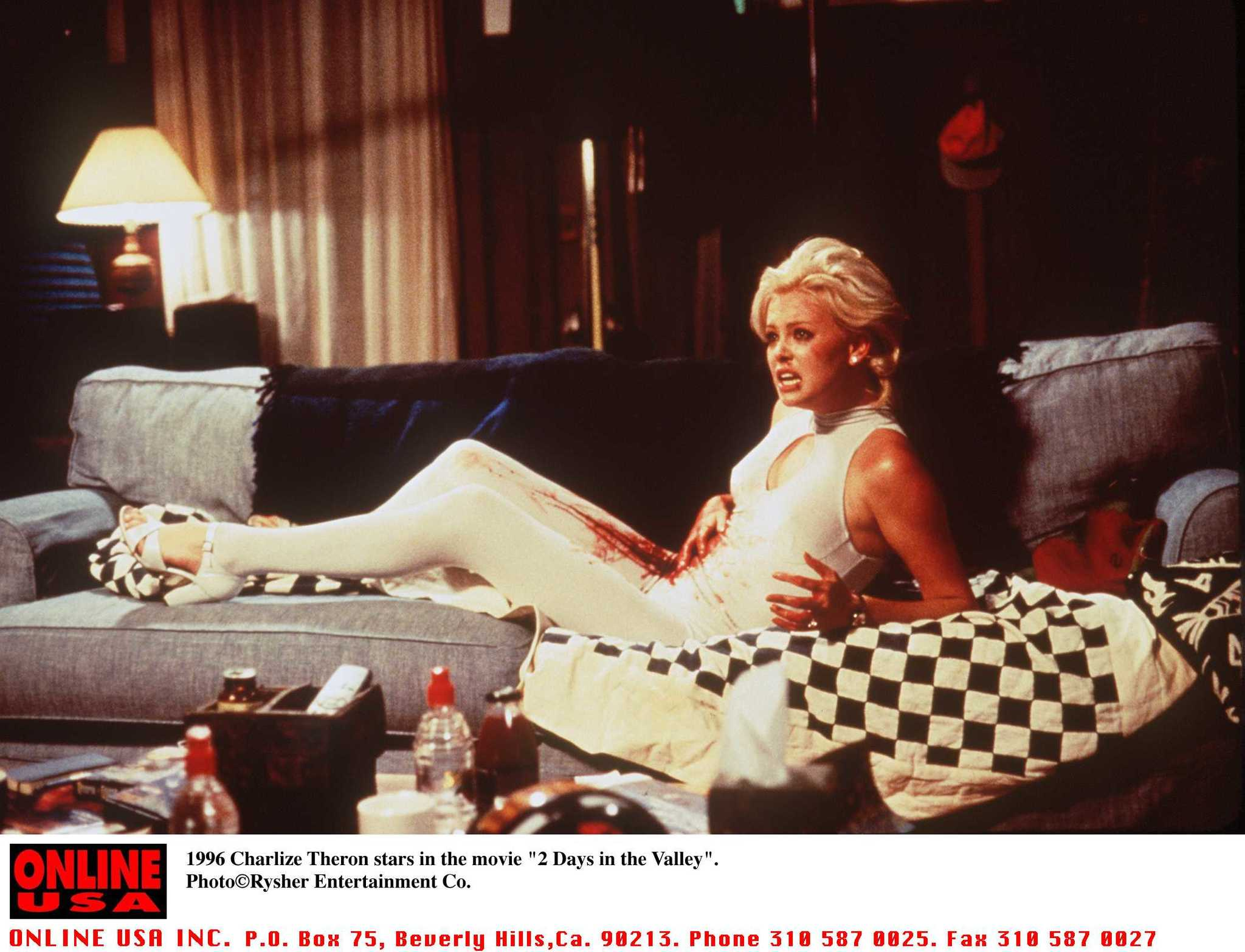 charlize in valley theron 2 the days