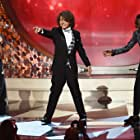 Caleb McLaughlin, Millie Bobby Brown, and Gaten Matarazzo at an event for The 68th Primetime Emmy Awards (2016)
