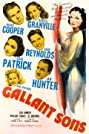 Gallant Sons (1940) Poster
