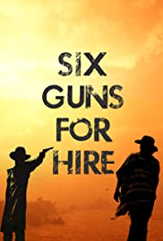 Six Guns for Hire Poster