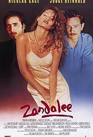 Nicolas Cage, Judge Reinhold, and Erika Anderson in Zandalee (1991)