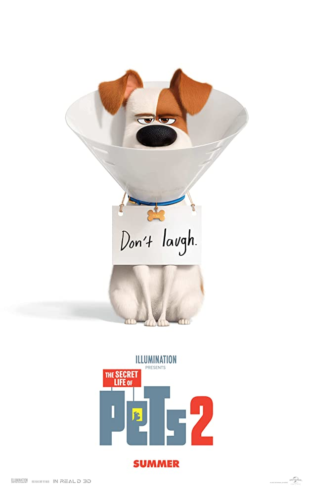 Legenda The Secret Life of Pets 2 (BluRay / WEB-DL)