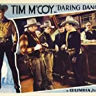 Robert Ellis, Tim McCoy, Richard Alexander, Edmund Cobb, and Vernon Dent in Daring Danger (1932)