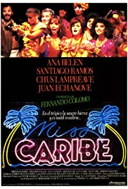 Miss Caribe Poster
