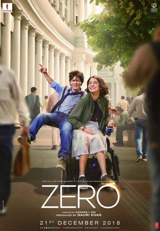 Zero 2018 Hindi 480p HDRip x264 400MB ESubs