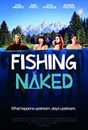 Fishing Naked Poster