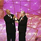 Jack Lemmon and Ving Rhames at an event for The 55th Annual Golden Globe Awards 1998 (1998)