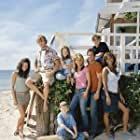 Shawn Christian, Merrin Dungey, Ryan Kwanten, Lori Loughlin, Jesse McCartney, Kay Panabaker, Nick Benson, and Taylor Cole in Summerland (2004)