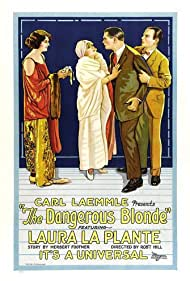Edward Hearn, Arthur Hoyt, Laura La Plante, and Eve Southern in The Dangerous Blonde (1924)