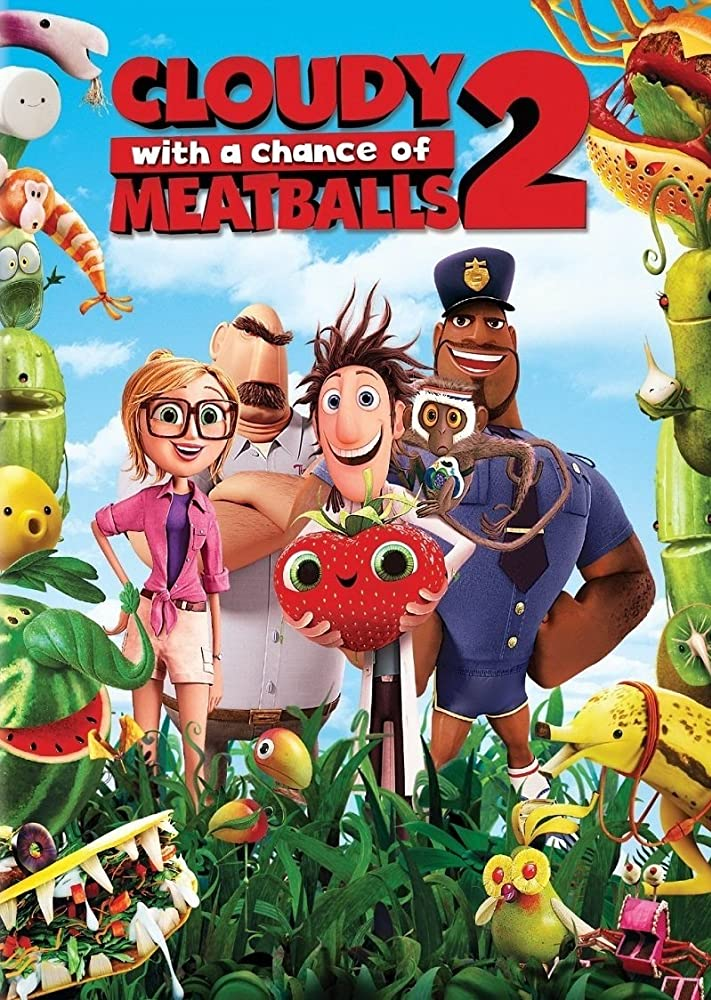 Cloudy With A Chance Of Meatballs 2 (2013) Hindi Dubbed