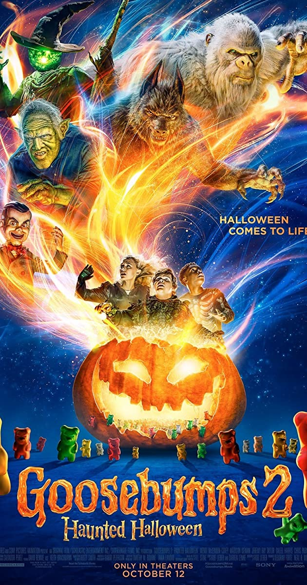 Subtitle of Goosebumps 2: Haunted Halloween