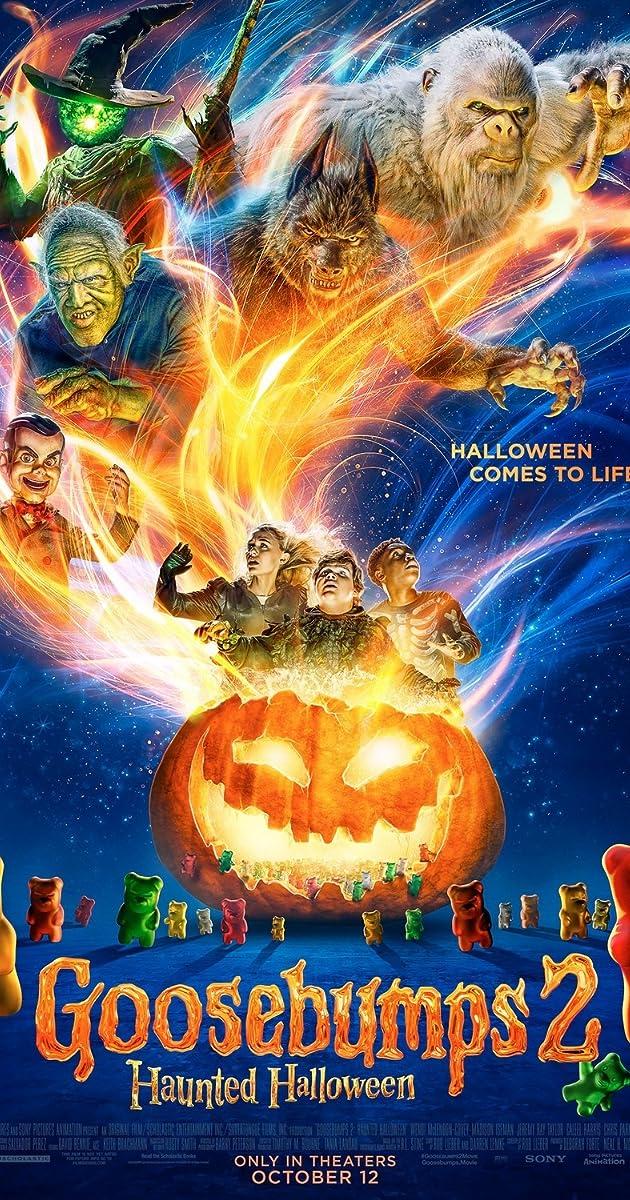 Free Watch Movie Goosebumps 2: Haunted Halloween (2018)