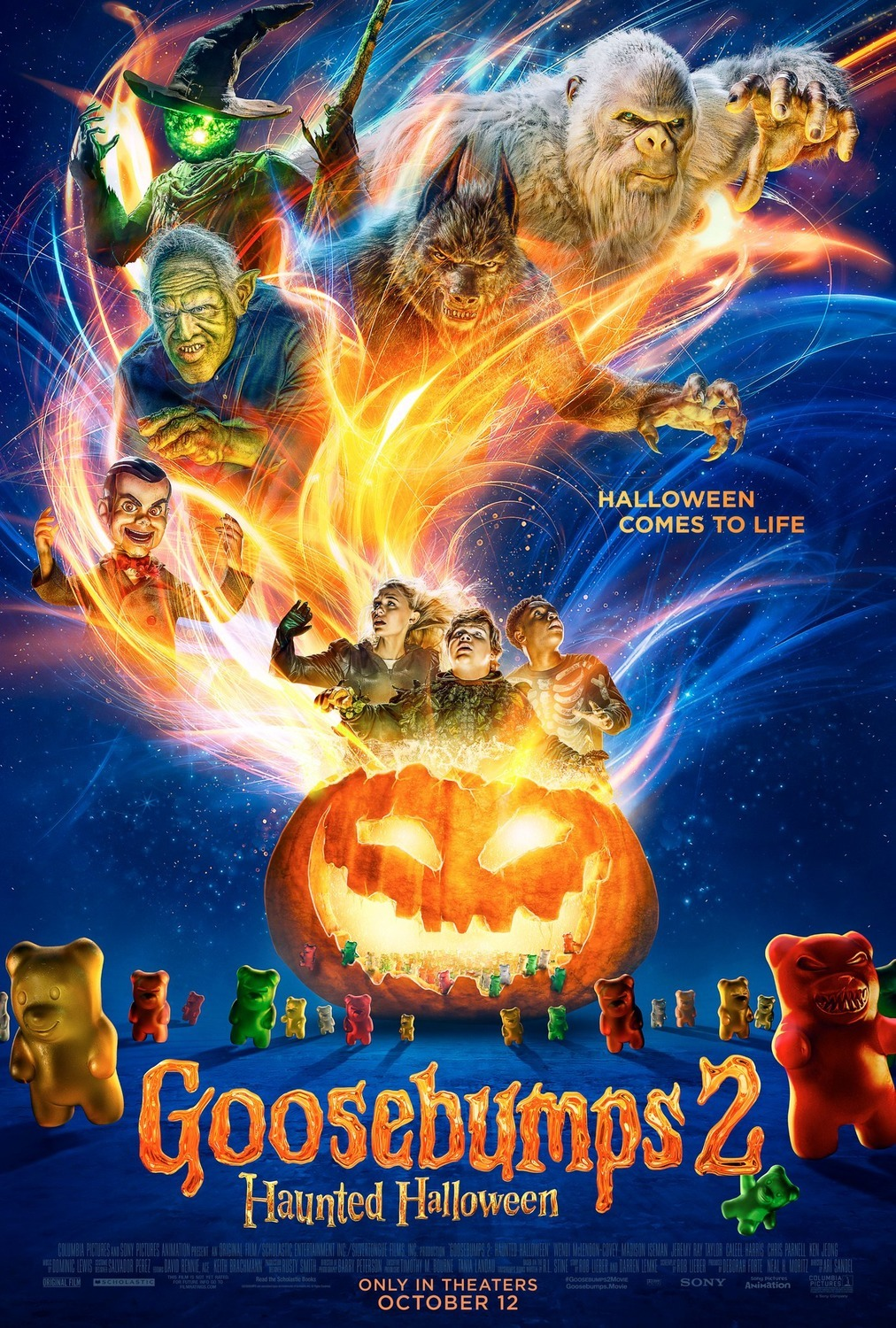 Goosebumps 2: Haunted Halloween BluRay 480p, 720p & 1080p