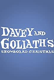Davey & Goliath's Snowboard Christmas Poster