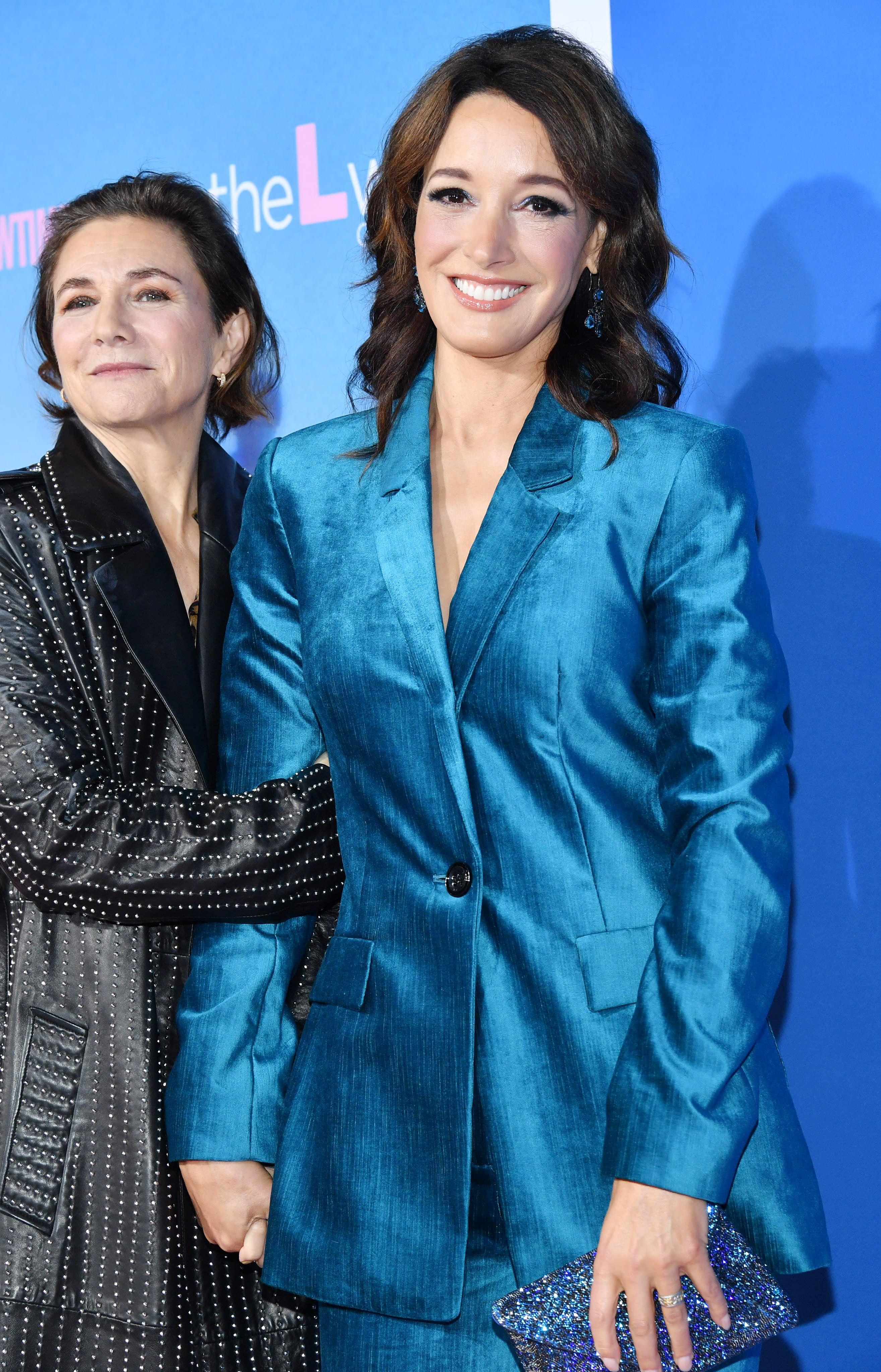 Jennifer Beals and Ilene Chaiken at an event for The L Word: Generation Q (2019)