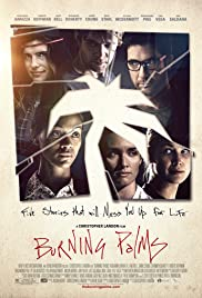 Burning Palms Poster