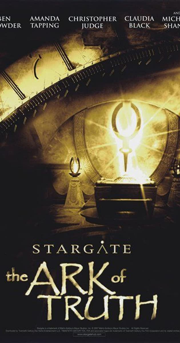 Subtitle of Stargate: The Ark of Truth