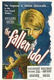 Sonia Dresdel, Bobby Henrey, and Ralph Richardson in The Fallen Idol (1948)