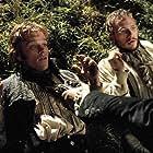 Matt Damon and Heath Ledger in The Brothers Grimm (2005)