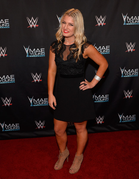 Toni Rossall at an event for WWE: Mae Young Classic Women Tournament (2017)