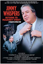 Jimmy Whispers Returns to Mulberry Street Poster