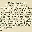 Follow the Leader (1928)
