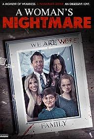 Corin Nemec, Gina Holden, Alexandria DeBerry, Will Lunsford, and Aubrey Stevens in A Woman's Nightmare (2018)