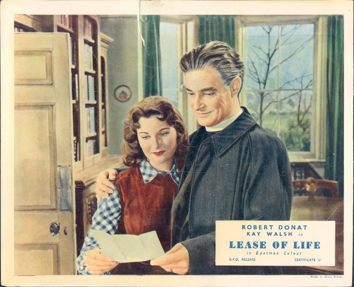 Robert Donat and Kay Walsh in Lease of Life (1954)