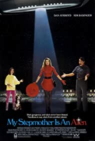 Dan Aykroyd, Kim Basinger, and Alyson Hannigan in My Stepmother Is an Alien (1988)
