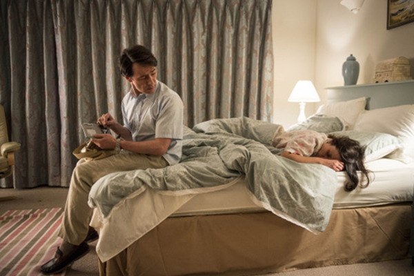 Kate Fleetwood and Reece Shearsmith in The Widower (2013)